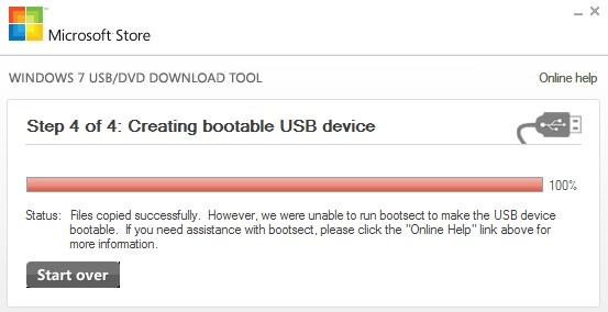 загрузочный USB