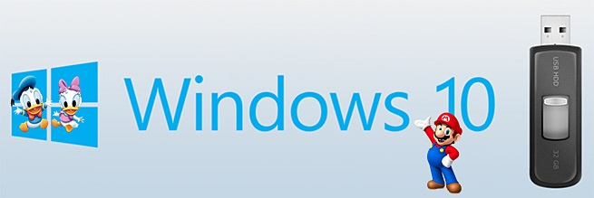 Windows 10 на флэшку